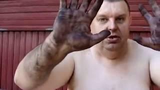 Kononowicz pokazuje jak wykonuje się usługi kominiarskie