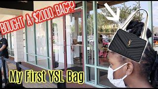 Shopping For my designer bag | San Marco Outlets| YSL Bag