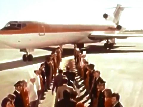We Really Move Our Tail For You Continental Airlines 1978 TV Commercial HD