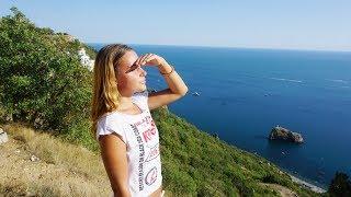 Крым. Встретили ЗМЕЮ на пути к пляжу! Как совместить приятное с полезным? ПЛЯЖ и СПОРТ в Крыму