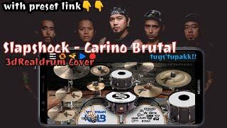 Slapshock - Carino Brutal 3dRealdrum Cover (How To Play Carino Brutal By Slapshock On Realdrum App)