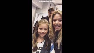 Sasha Pieterse and Gleb Savchenko Instagram videos