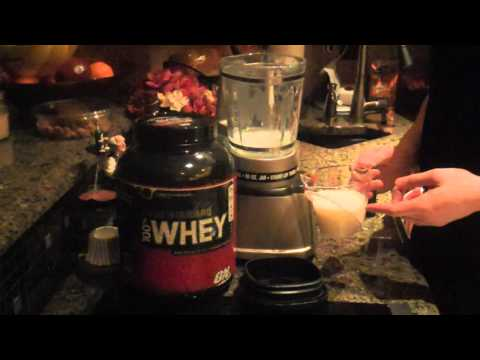 How To Make Basic Whey Protein Shake