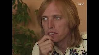 Tom Petty on working with Jeff Lynne, Traveling Wilburys etc (Norwegian TV_1989)