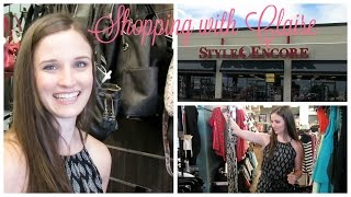 Shopping with Claire at Style Encore