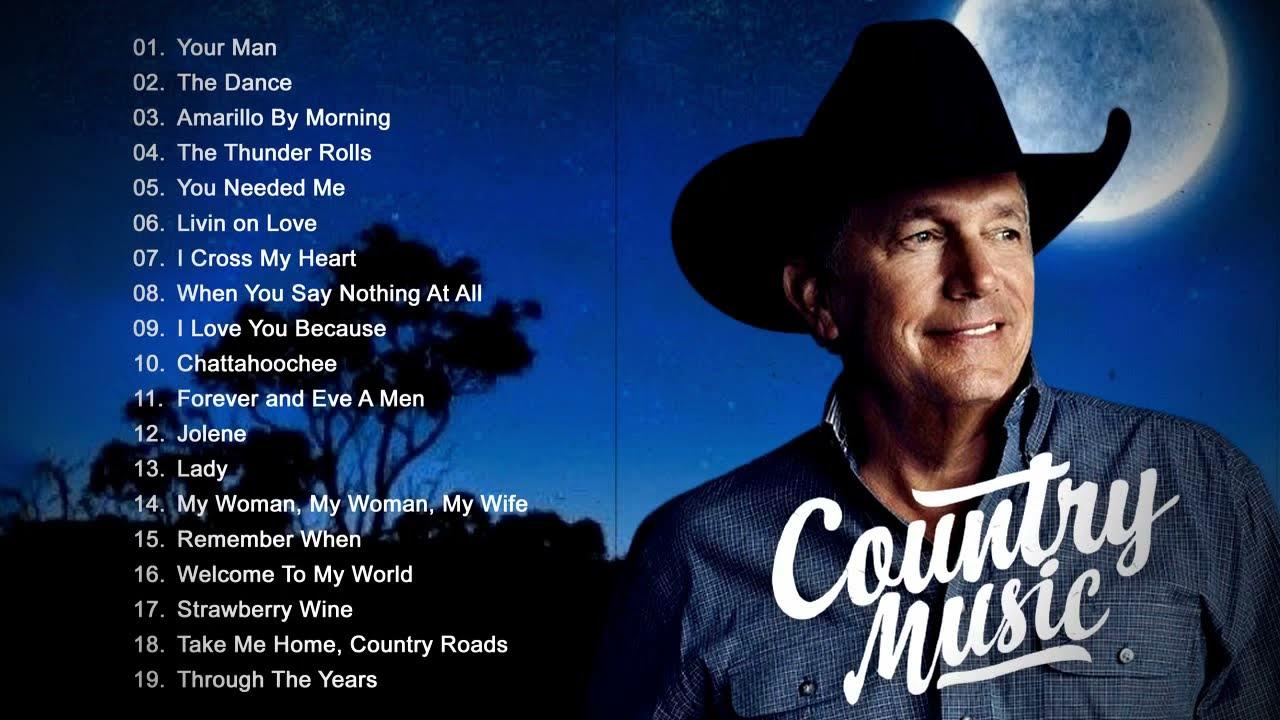 Jim Reeves, Garth Brooks, Anne Murray, Alan Jackson, John Denver - Best Old Country Songs Ever