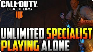 BO4 Zombie Glitches: Unlimited Specialists Glitch Playing Alone - Black Ops 4 Glitches