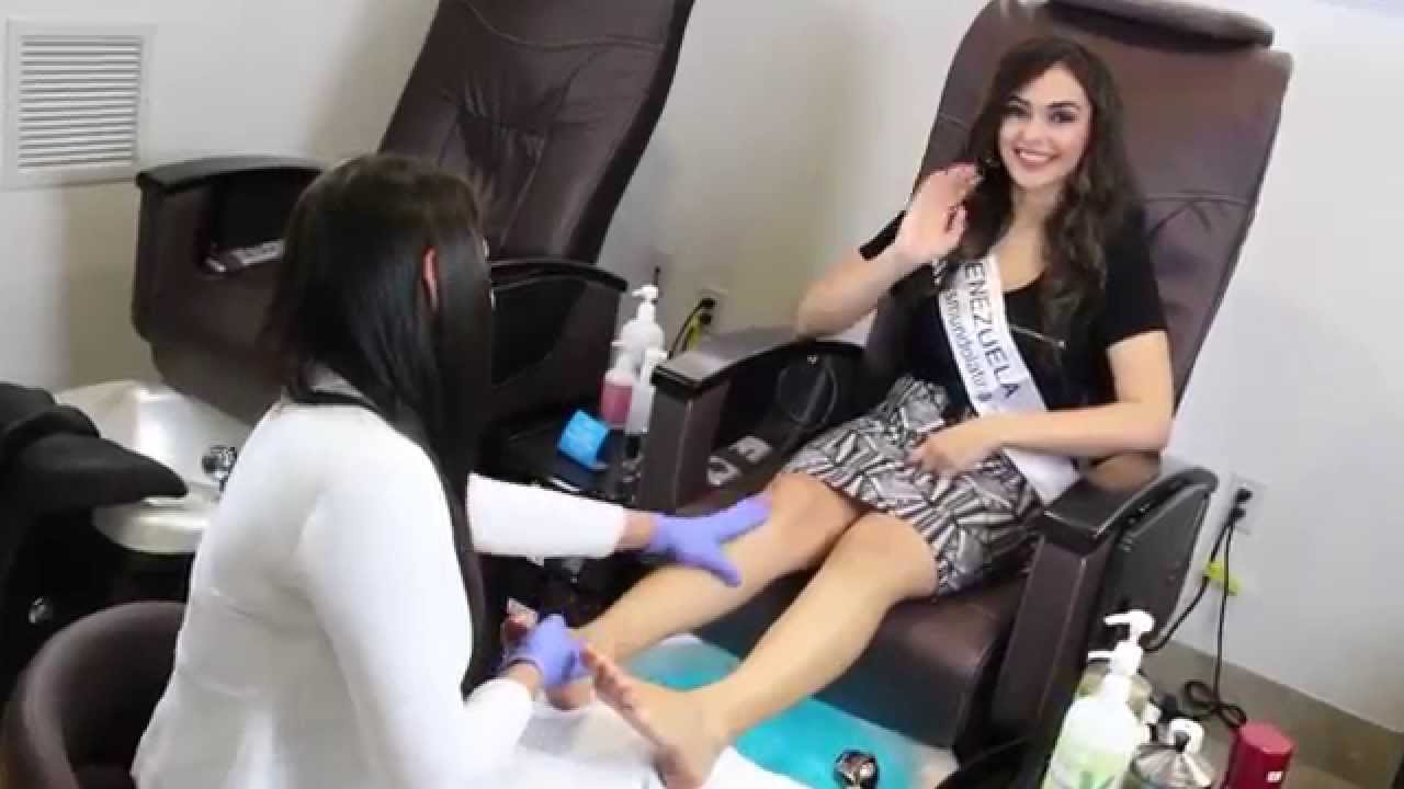 miss mundo latina us visita kandor beauty salon youtube