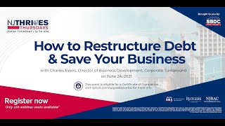 NJTT #008: How to Restructure Debt & Save Your Business