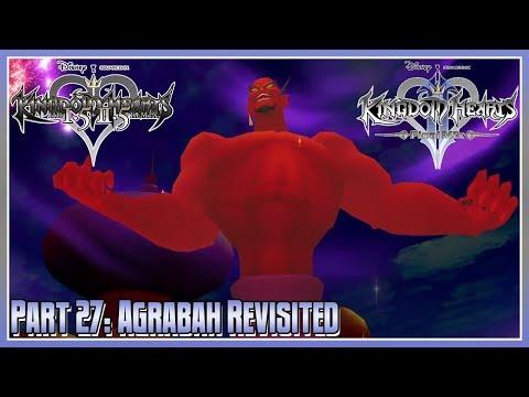 Kingdom Hearts HD 1.5 + 2.5 Remix - KH2FM - Part 27: Agrabah Revisited - 동영상