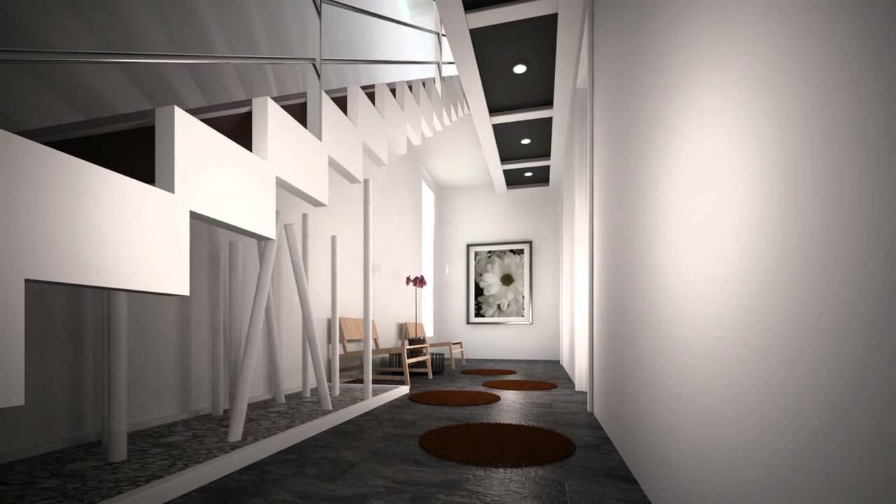 Dise o interior interiorismo para la casa de cristal - Interiorismo de casas ...