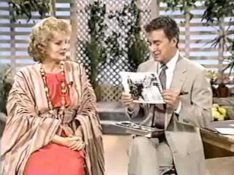 Actress Carroll Baker on Regis Philbin's Lifestyles, '86