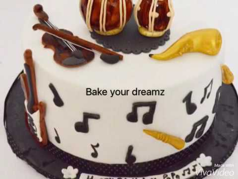 Musical Theme Based Designer Cake