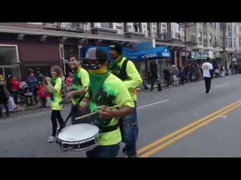 (2)Hurricane Samba At The San Francisco Carnaval Parade (2015)