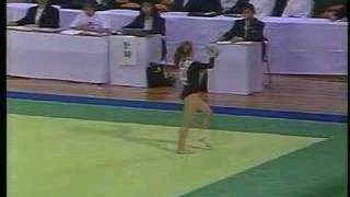 oksana fabrichnova fx 1991 international junior ef