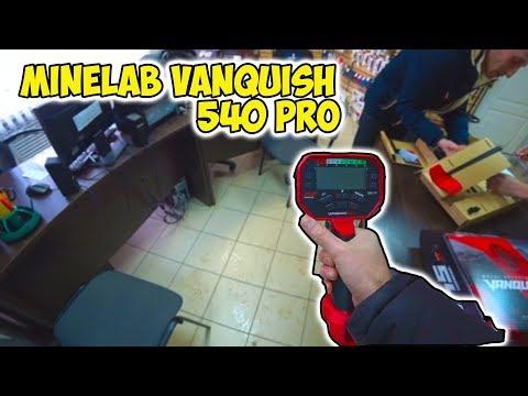 Камрад купил Minelab VANQUISH 540 Pro / Поездка в МД Регион