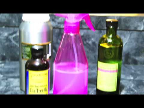 Homemade natural air freshener from essential oils