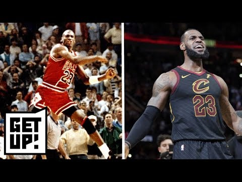 Is LeBron James' buzzer-beater better than Michael Jordan's over Craig Ehlo? | Get Up! | ESPN