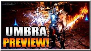 Umbra Gameplay - Prototype Preview and Info! Next Gen Hack n Slash!