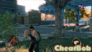 Saints Row the Third : let's have fun with cheats (sex, hookers, iron fist, zombies, airstrike...)