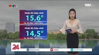 Dự báo thời tiết ngày 13/12 | VTV24