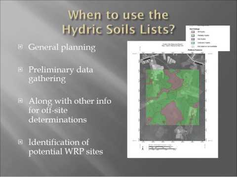Webinar - Hydric Soils and the Farm Bill (3/2012)