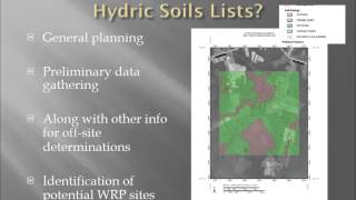 Webinar - Hydric Soils and the Farm Bill (3/2012)