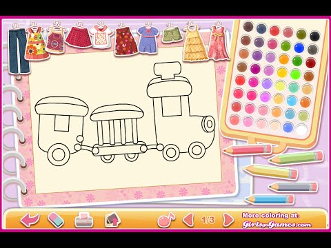 Choo Train Coloring Pages For Kids