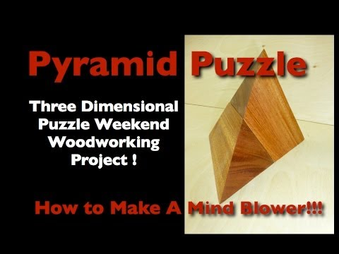 Wood Pyramid Puzzle