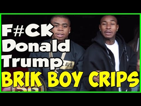 Northside Long Beach Crips say F*#k Donald Trump