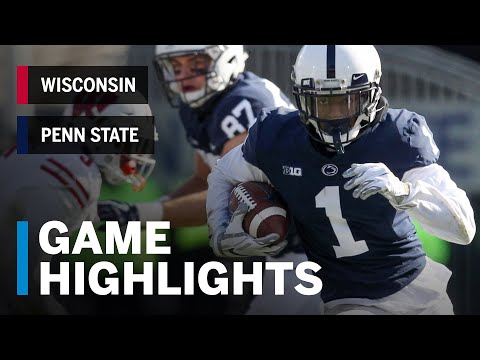 Wisconsin Sports - Video Highlights: Penn State 22, Wisconsin 10