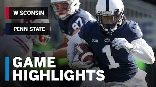 Highlights: Wisconsin Badgers vs. Penn State Nittany Lions | Big Ten Football