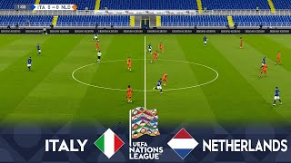 ITALY vs NETHERLANDS Matchday 4 UEFA Nations League 2020 Football