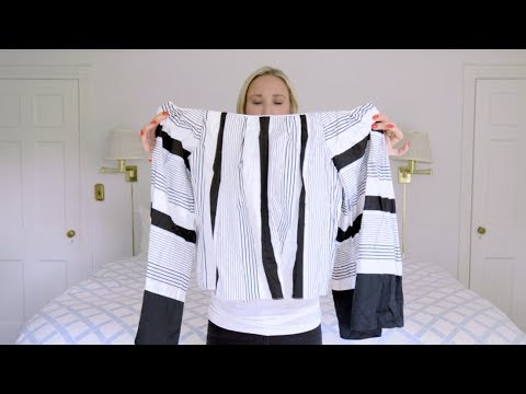 1f1b8e756fd97f How to Get an Off-the-Shoulder Top to Actually Stay Put - YouTube