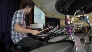 Live Drum Covers: Hosanna & I Could Sing of Your Love Forever