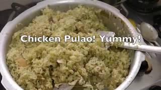 Chicken Pulao ummm Yummy!