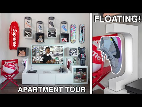 I Built The ULTIMATE Sneaker Room! (TOUR)
