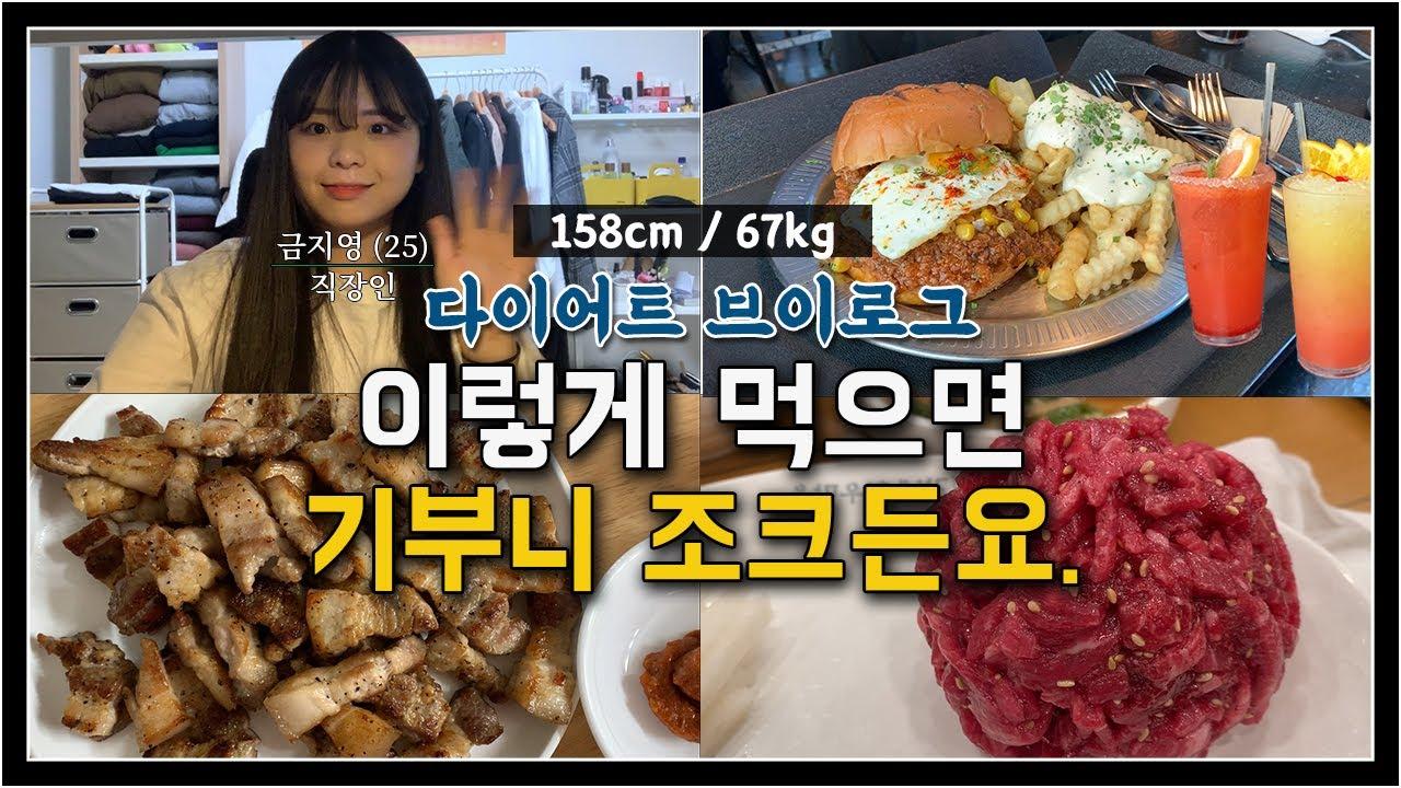 [67kg/직장인] 다이어트할 때, 먹으면 기부니 조크든요!