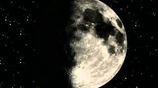 Björk - Moon - Lunar Cycles, Sequences - Tour Visual Projection Backdrop [Surrounded]