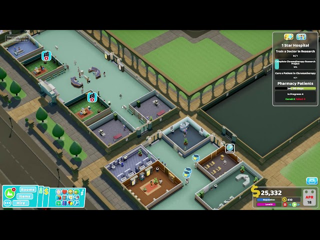 Two Point Hospital - Ep 6 - Research