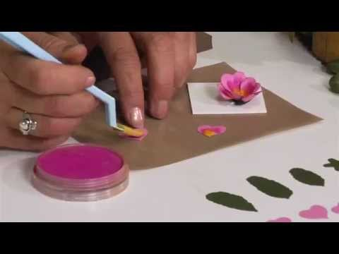 How to Use Sizzix Primrose Flower Die