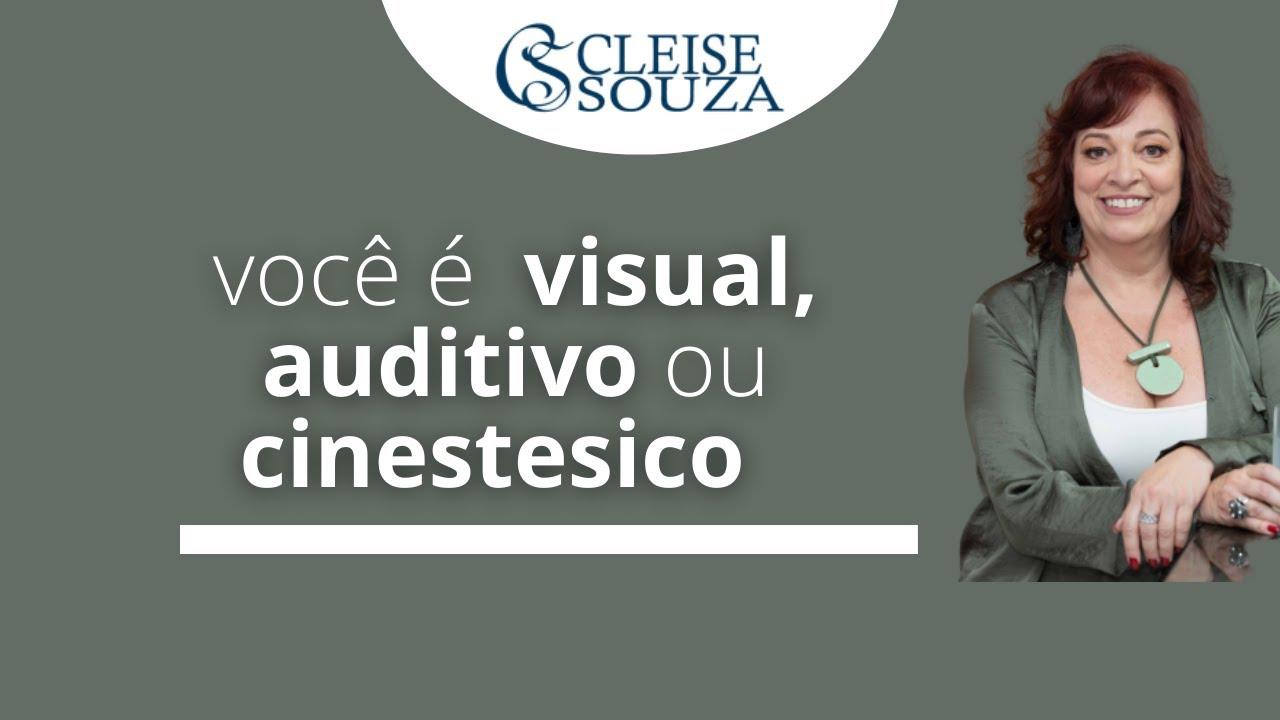 Você é visual, auditivo ou cinestésico?
