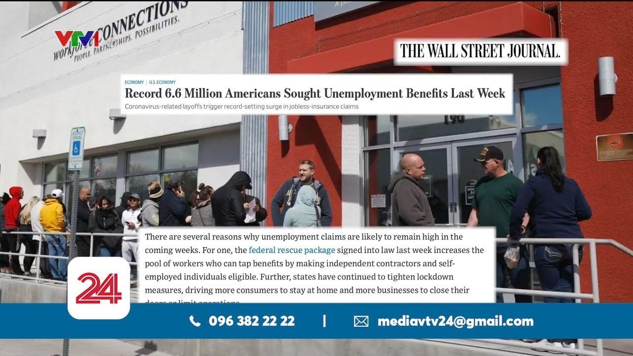 Thị trường lao động Mỹ tiếp tục chao đảo   VTV24