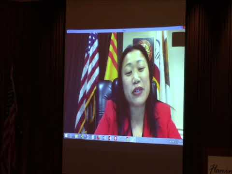 Senator Janet Nguyen at Lincoln Day Dinner - 2018, Sonoma County Republican Party