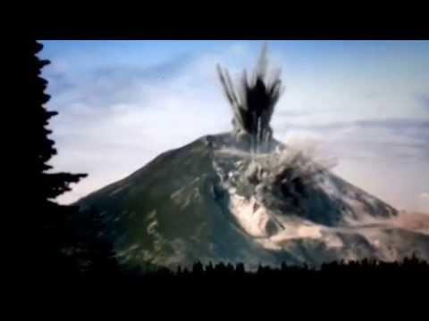 Mt saint Helens eruptions 1980/2004