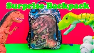 DINOSAUR SURPRISE BACKPACK Jurassic World Dinosaur Surprise Eggs