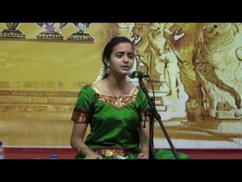 """Akshaya Prabhu singing - """"Tamburi Meetidava"""""""