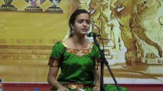 "Akshaya Prabhu singing - ""Tamburi Meetidava"""