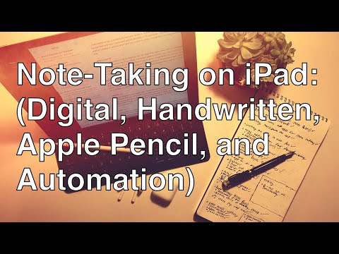 How I Take Notes On My iPad