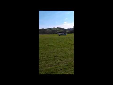 Glider Tow And Landing!